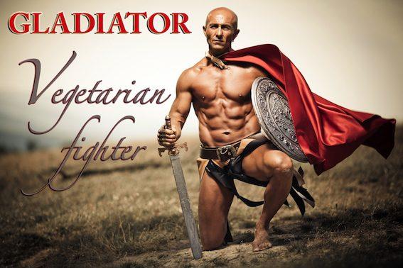 Gladiátoři se dle dostupných pramenů stravovali vegetariánsky.