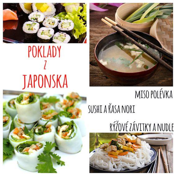 Obrovské množství receptů japonské kuchyně je vhodné pro vegany a vegetariány.