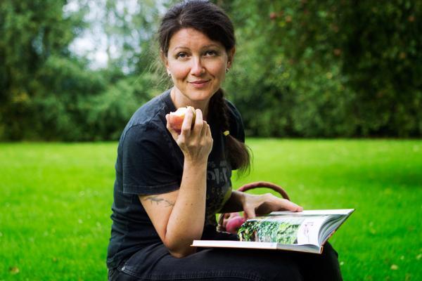 Každý den si lze na blogu přečíst jeden vegetariánský či veganský recept.