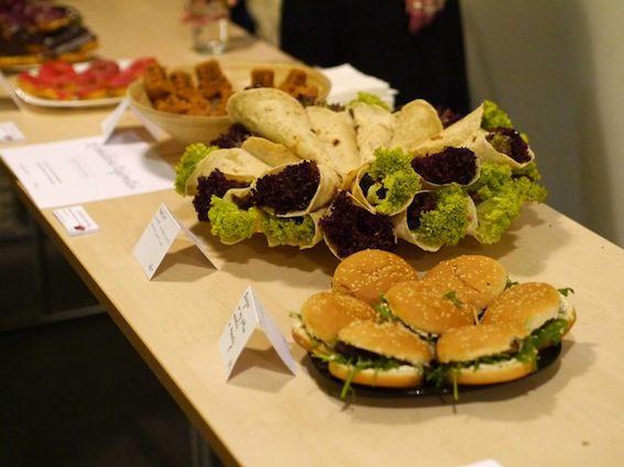 K ochutnání budou různé veganské speciality.